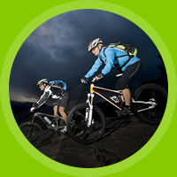 Mountain bike training course