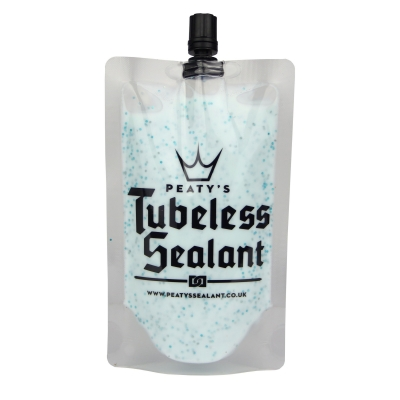 PEATY'S TUBELESS SEALANT - 120ml TRAIL POUCH